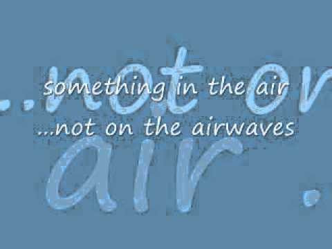 Something In The Air / It