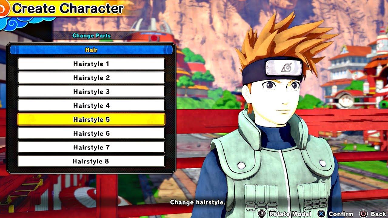 New Naruto Game Character Creation | Games World