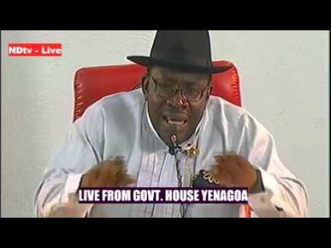 NDTV NIGERIA-GOV DICKSON MEDIA CHAT