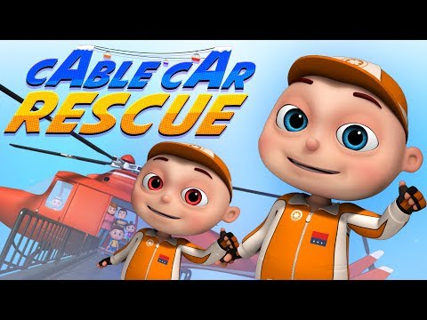 Zool Babies Series | Cable Car Rescue | Videogyan Kids Shows | Cartoon Animation For Children