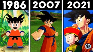 EVOLUÇÃO DO DRAGON BALL NOS GAMES