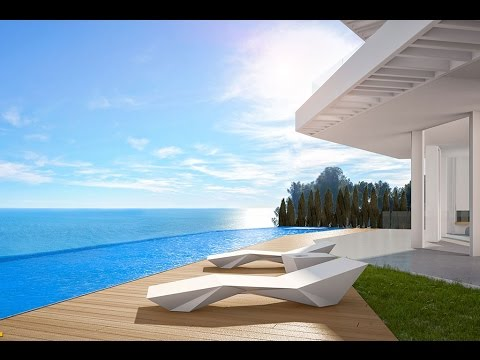 Luxury villa on the seafront in Javea