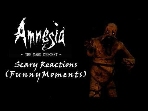 AMNESIA BEST SCARE REACTIONS (and funny moments)