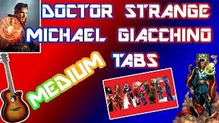 DOCTOR STRANGE👉GUITAR TABS--YOUSICIAN