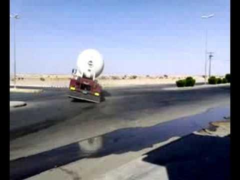 Saudi Drift - The Gas Lorry