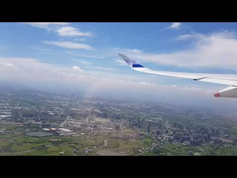 China Airlines A350 | Windy Takeoff From Taipei To London
