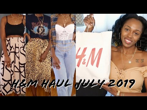 New In H&M Try-On Haul July 2019 ||  Titha Collins