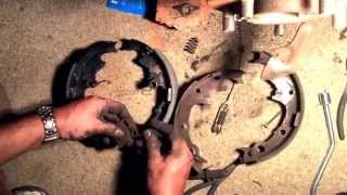 Rear Drum Brakes/Wheel Cylinder Change 1999 Jeep Wrangler