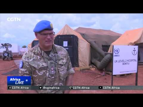 Level two hospital opened in South Sudan to care for 1,800 military, civilian staff