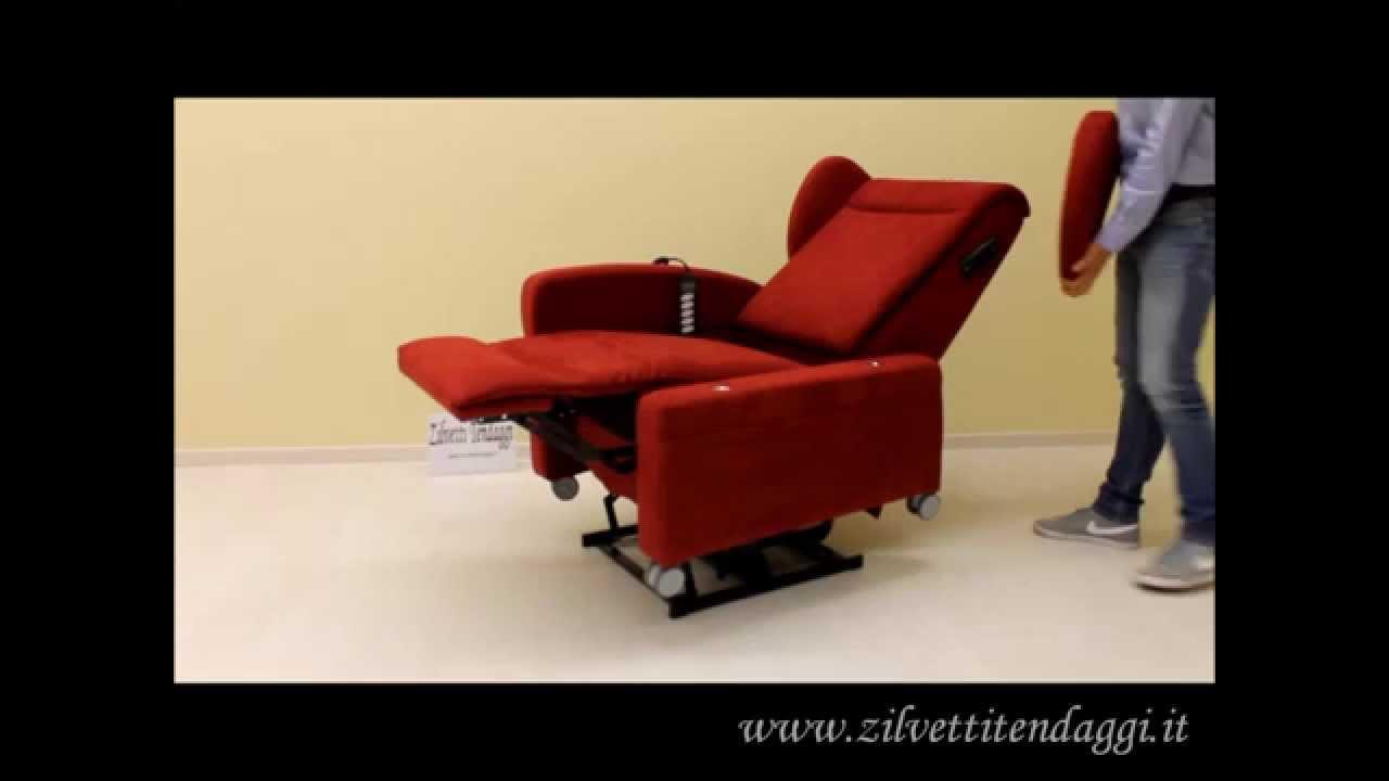 Poltrona Massaggiante Lift.Poltrona Relax Valeria 4 Motori Lift Con Rotelle Tel 0442 92760