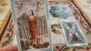 С 13  января по 19 февраля - прогноз на неделю на картах Таро от Ангелов и эксперта Ксении Матташ