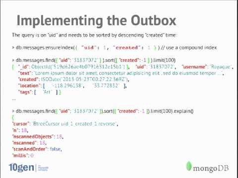 Building a Scalable News Feed/Inbox System with MongoDB and Java