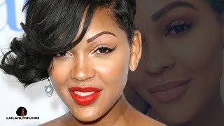 Beauty: Meagan Good Reveals Her New Eyebrows After EYEBROW TRANSPLANT