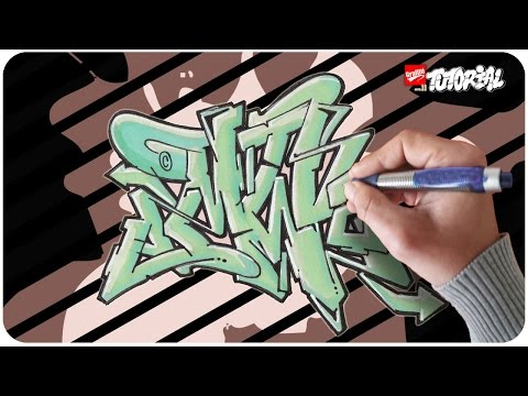 Graffiti Wildstyle Tutorial - MW2 (Modern Warfare 2)