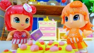 Мультики для девочек. Апельсинка и Конфетка и правила этикета