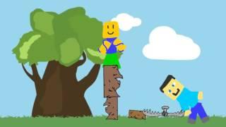Minecraft V.S Roblox Noob : Disegno cartoni animati 2