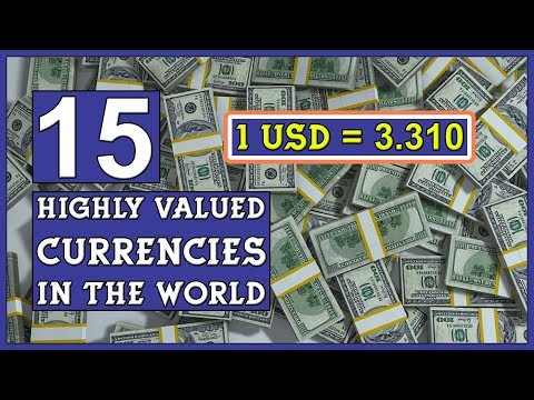 Top 15 Highly Valued Currencies in the World