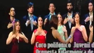 coro polifonico juvenil de la orquesta filarmonica de bogotá