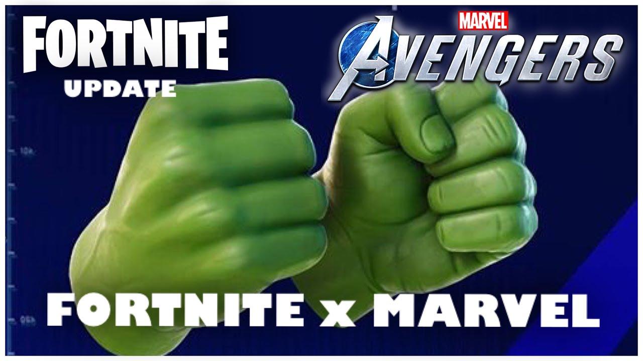 FORTNITE x MARVEL AVENGERS GAME BETA COLLABORATION - YouTube