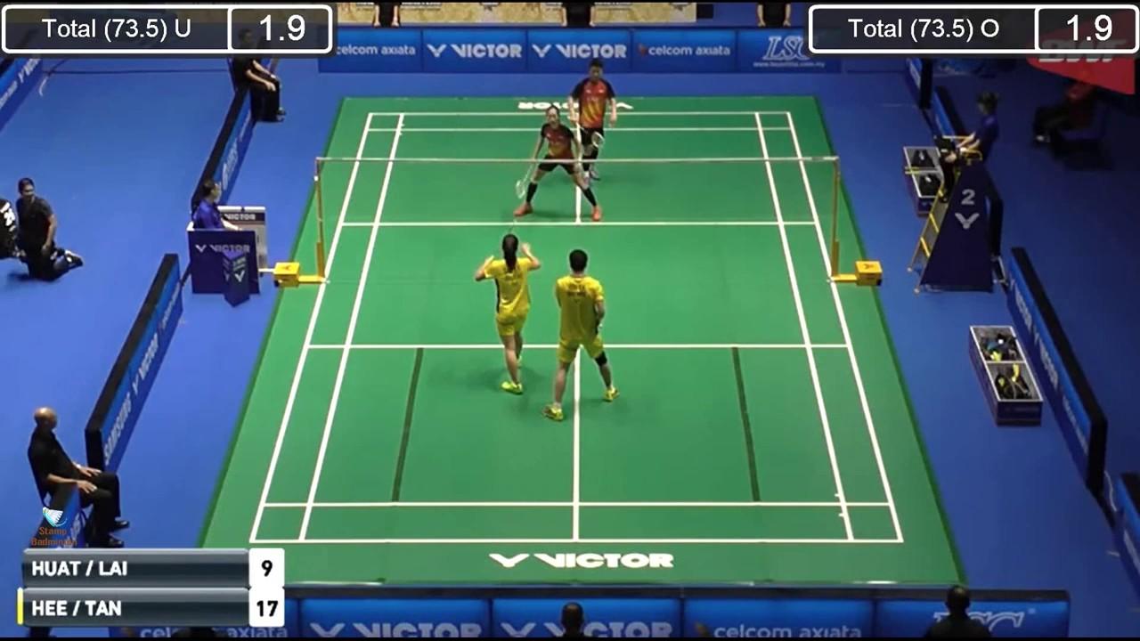 2017 Malaysia Masters QF XD GOH Soon Huat Shevon Jemie LAI vs Yong