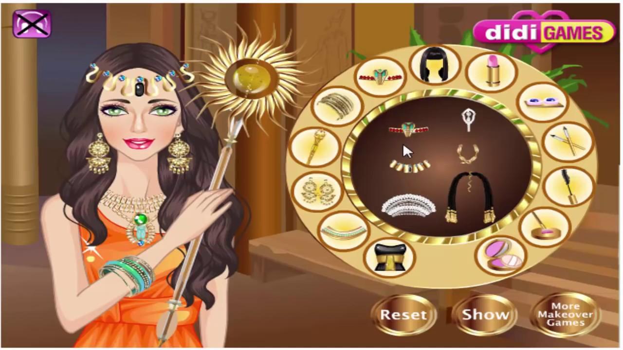 Egypt Princess Makeover Girl Game