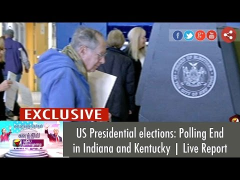 US Presidential elections: Polling Ends in Indiana and Kentucky | Live Report