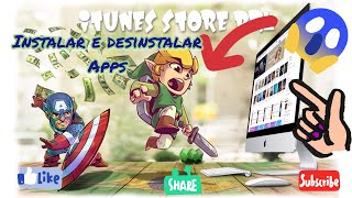 COMO INSTALAR E DESINSTALAR APPS IPHONE, IPOD E IPAD - APPLE STORE - APPLE ID - APPLE SUPORTE