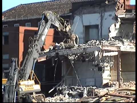 Demolition of mansfield general hospital