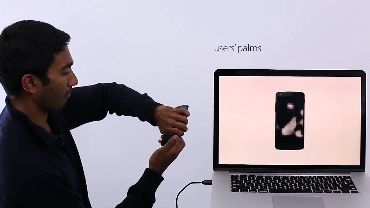 Bodyprint: Biometric Authentication on Smartphones using the Touchscreen as a Scanner