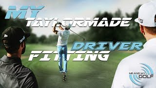 MY TaylorMade M5 DRIVER FITTING | ME AND MY GOLF