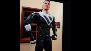 Custom MAN OF STEEL FUTURE SUPERMAN movie masters action figure review by HKC