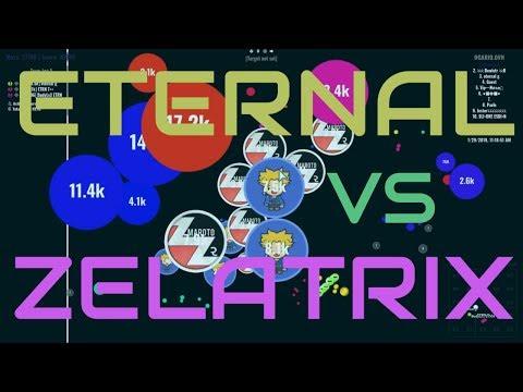 ClanWar: ETERNAL vs ZELATRIX // ayudando a unos amigos... sin comentarios😶 - Agar.io thumbnail