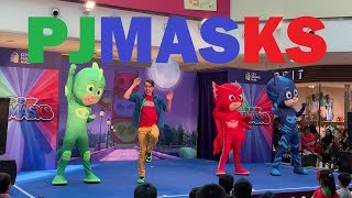 PJ MASKS Live - Catboy Owlette Gekko in action at City Square Mall, Singapore!