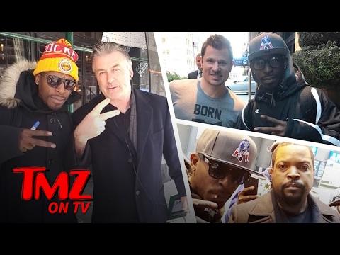 Alec Baldwin Tells A Fan...'Stay Black' | TMZ TV
