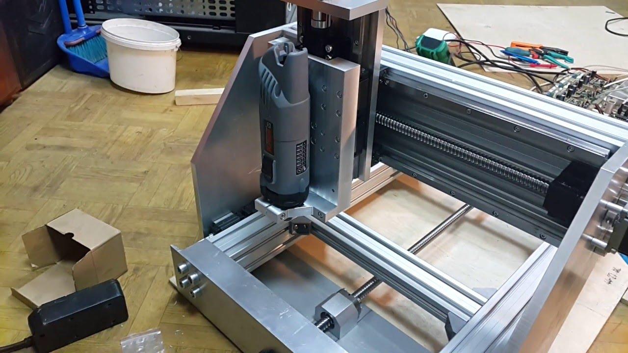 Простой ЧПУ фрезер гравер на Arduino своими руками - YouTube
