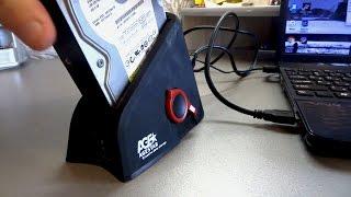 Обзор Age Star Док станция для HDD 2.5/3.5