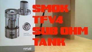 Smok TFV4 - Triple & Quad Coil Sub Ohm Tank - REVIEW