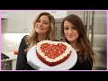 Making a Red Velvet Cookie Cake!