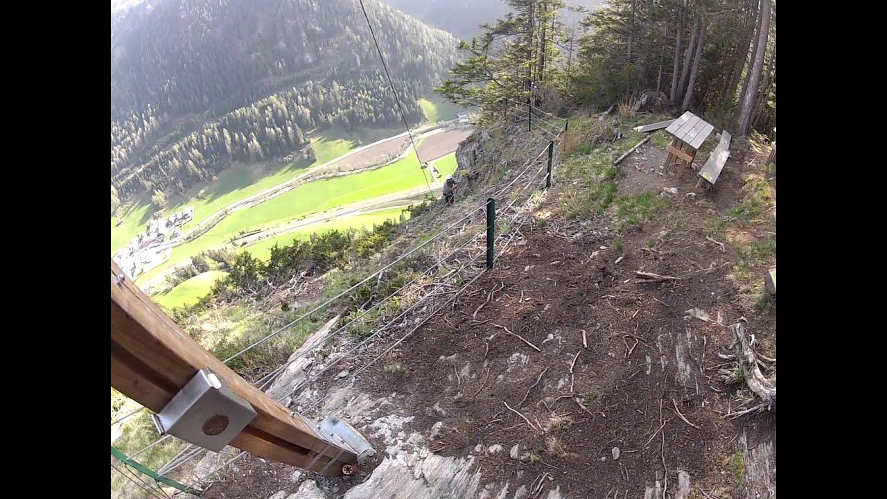 St Jodok Klettersteig : Klettersteig st jodok teil gopro youtube