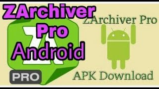 Gambar cover How to download ZArchiver pro Donate Apk