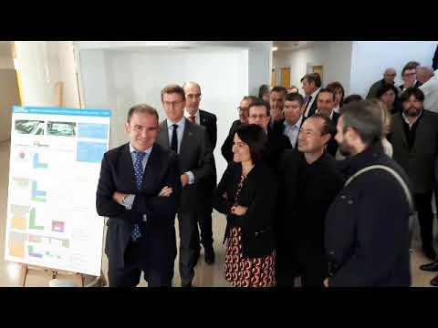 Feijóo visita las nuevas instalaciones del Hospital da Costa de Burela