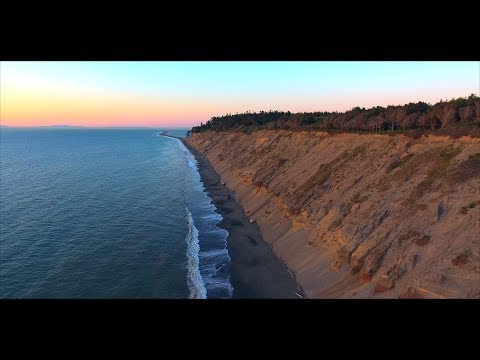 Washington Coast Sunset In 4k | Sequim Dungeness Spit