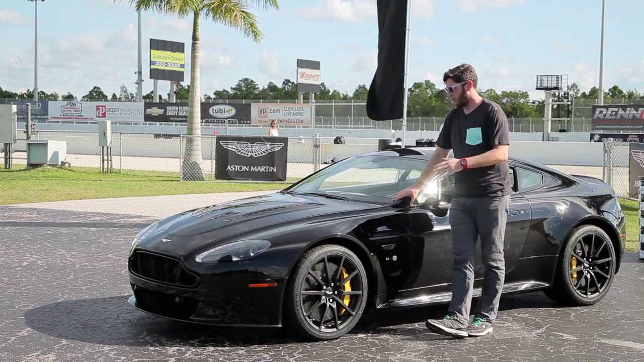 First Drive 2015 Aston Martin V12 Vantage S Youtube