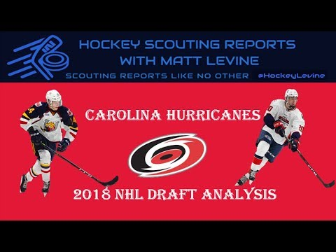 Final Piece To Puzzle? | Carolina Hurricanes 2018 NHL Draft Analysis