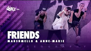 Friends - Marshmello & Anne-Marie | FitDance Life (Choreography) Dance