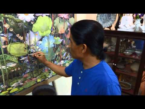 HUA HIN FAMOUS ARTIST TAWEE THAILAND 2014