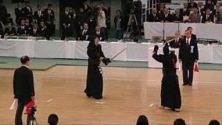 第57回全日本剣道選手権大会 正代選手 対 大石選手 http://kendomiyake....