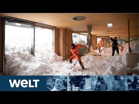 SCHNEECHAOS 2019: Angst vor der nächsten Schneewalze