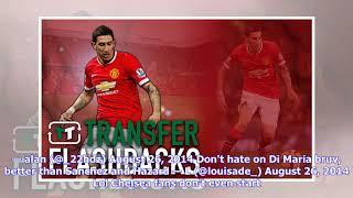 Transfer flashback: Angel Di Maria to Man United
