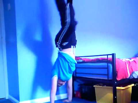 Joshes gymnast routine